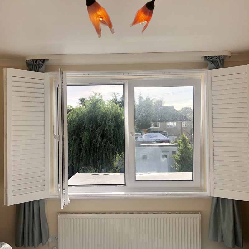 plantation swindow shutters installed in Guildford area