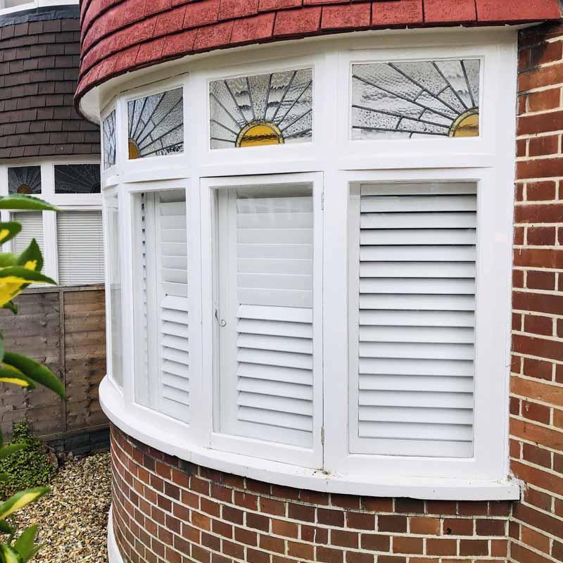 bay window shutters - kingston